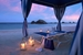 Private Cabana at Sunset