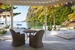 Luxury Beachfront Bungalow Deck